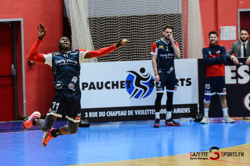 Volleyball Amvb Vs Villejuif Kevin Devigne Gazettesports 76