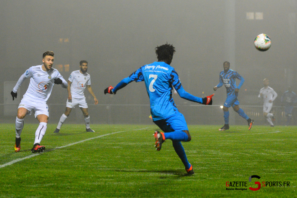 Football Aca Vs Marcq Kevin Devigne Gazettesports 16