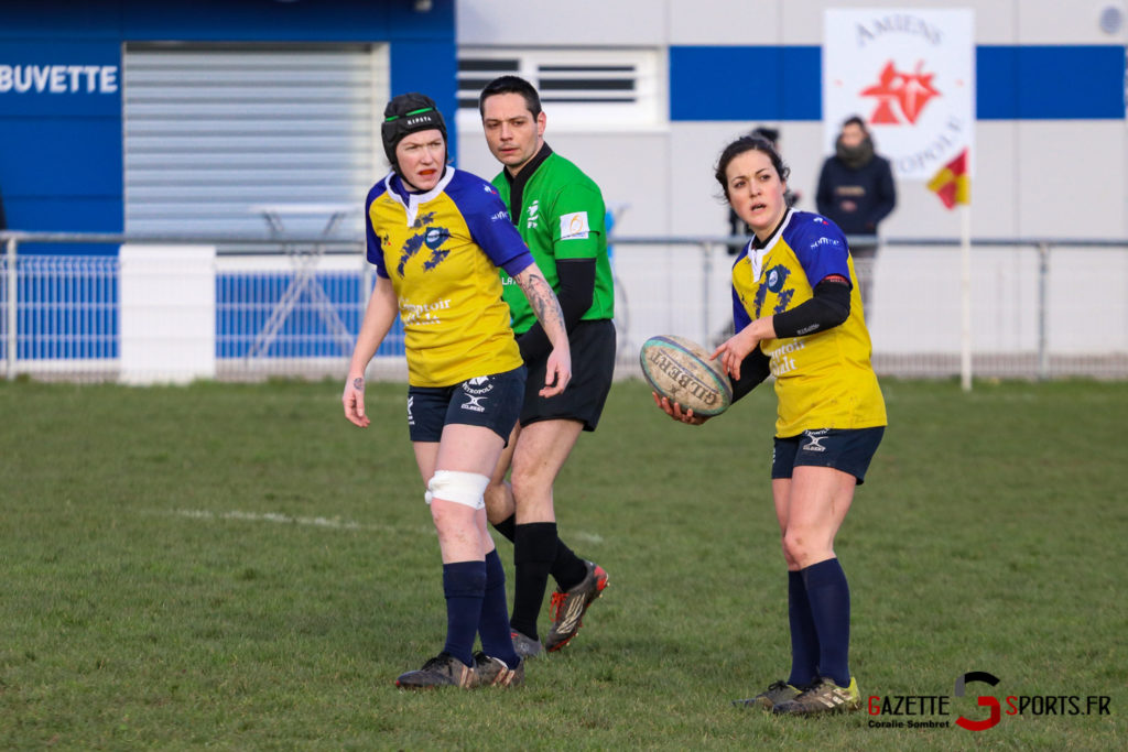 Rugby Feminin Rca Vs Armentière Gazettesports Coralie Sombret 13