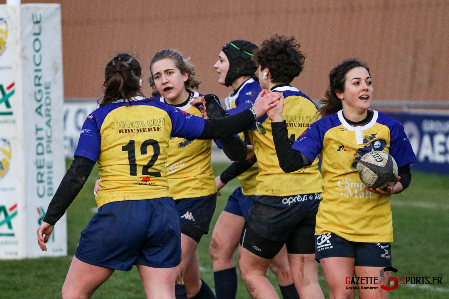 Rugby Feminin Rca Vs Grande Synthe Gazettesports Coralie Sombret 21