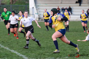 Rugby Feminin Rca Vs Grande Synthe Gazettesports Coralie Sombret 7