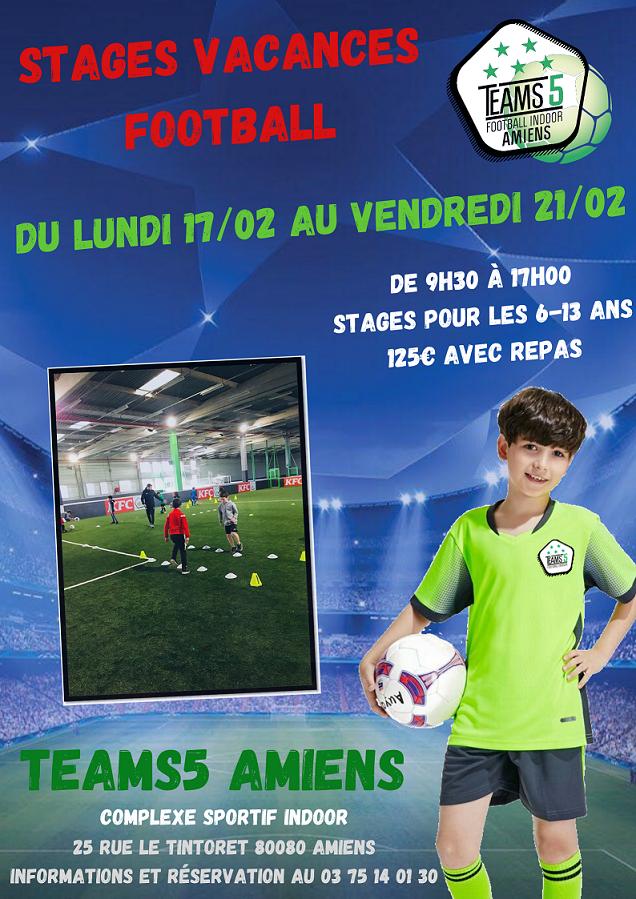 Stages Vacances Football Février Teams5 Copie (2)