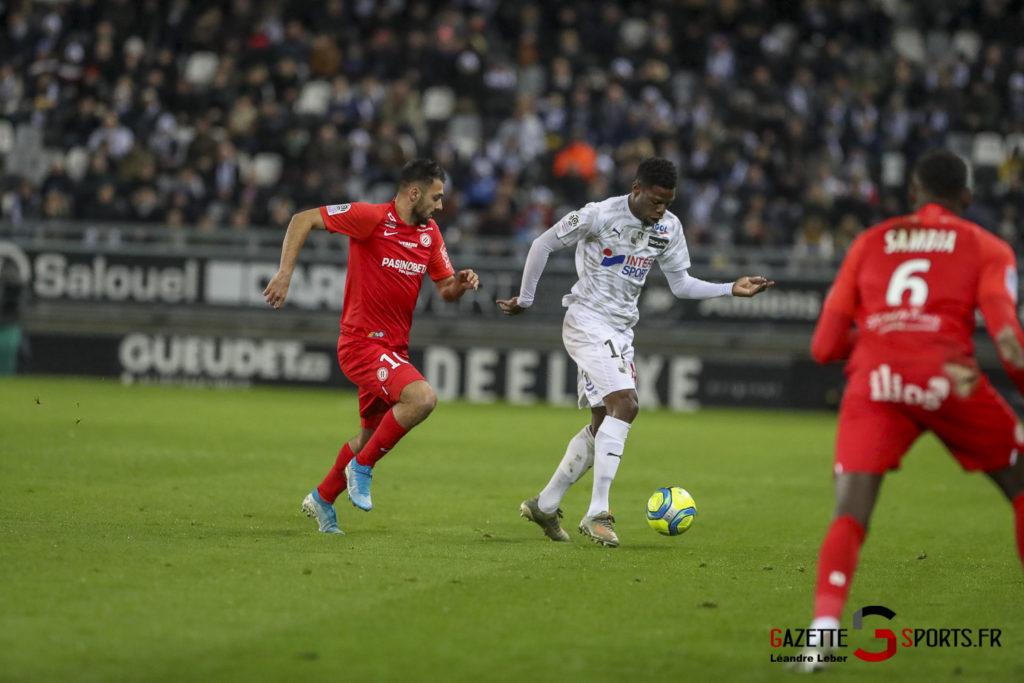 Amiens Sc Vs Montpellier 0011 Leandre Leber Gazettesports
