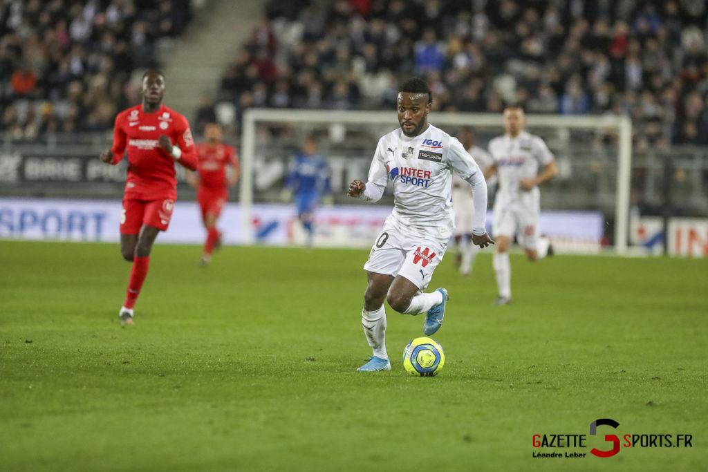 Amiens Sc Vs Montpellier 0020 Leandre Leber Gazettesports