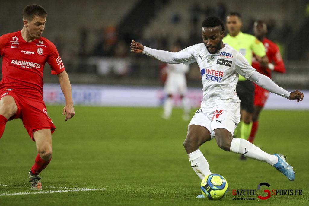 Amiens Sc Vs Montpellier 0021 Leandre Leber Gazettesports
