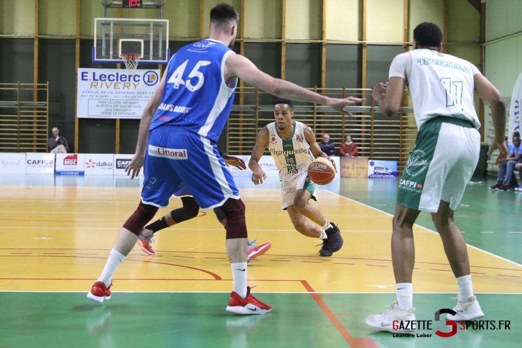 Esclams Basket Vs Calais 0001 Leandre Leber Gazettesports