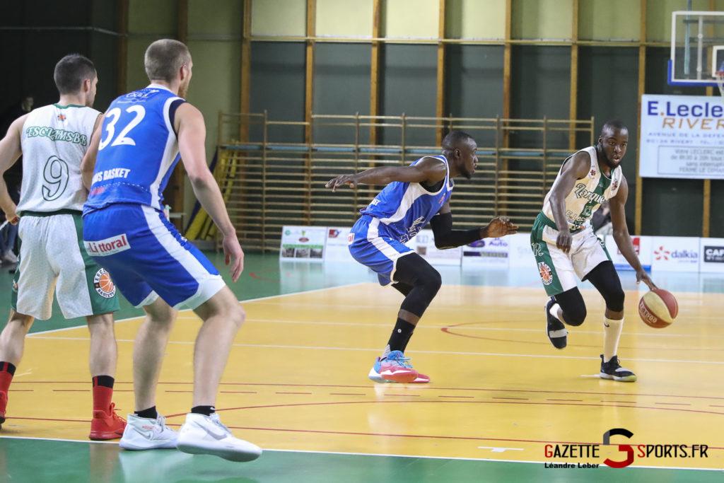 Esclams Basket Vs Calais 0003 Leandre Leber Gazettesports