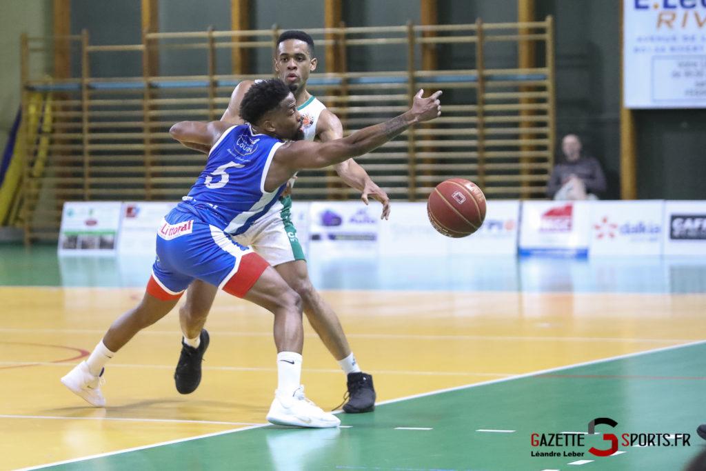 Esclams Basket Vs Calais 0011 Leandre Leber Gazettesports