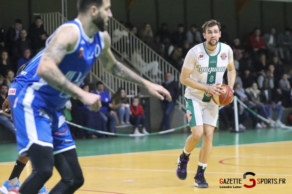 Esclams Basket Vs Calais 0012 Leandre Leber Gazettesports
