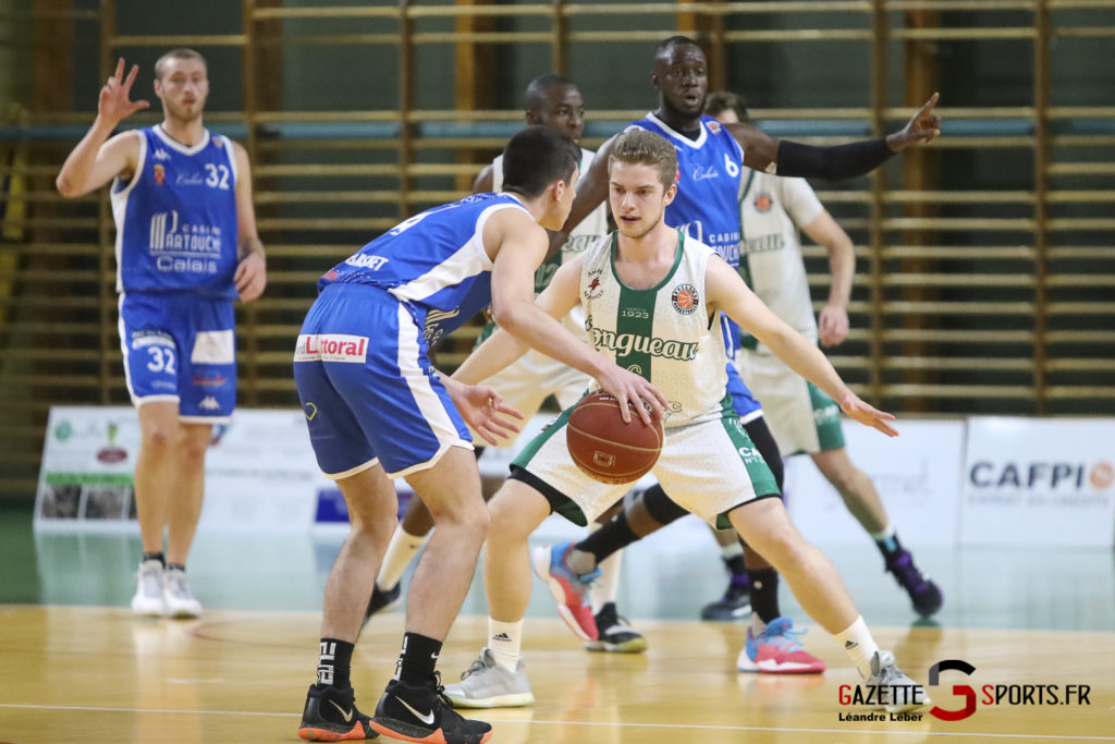 Esclams Basket Vs Calais 0013 Leandre Leber Gazettesports