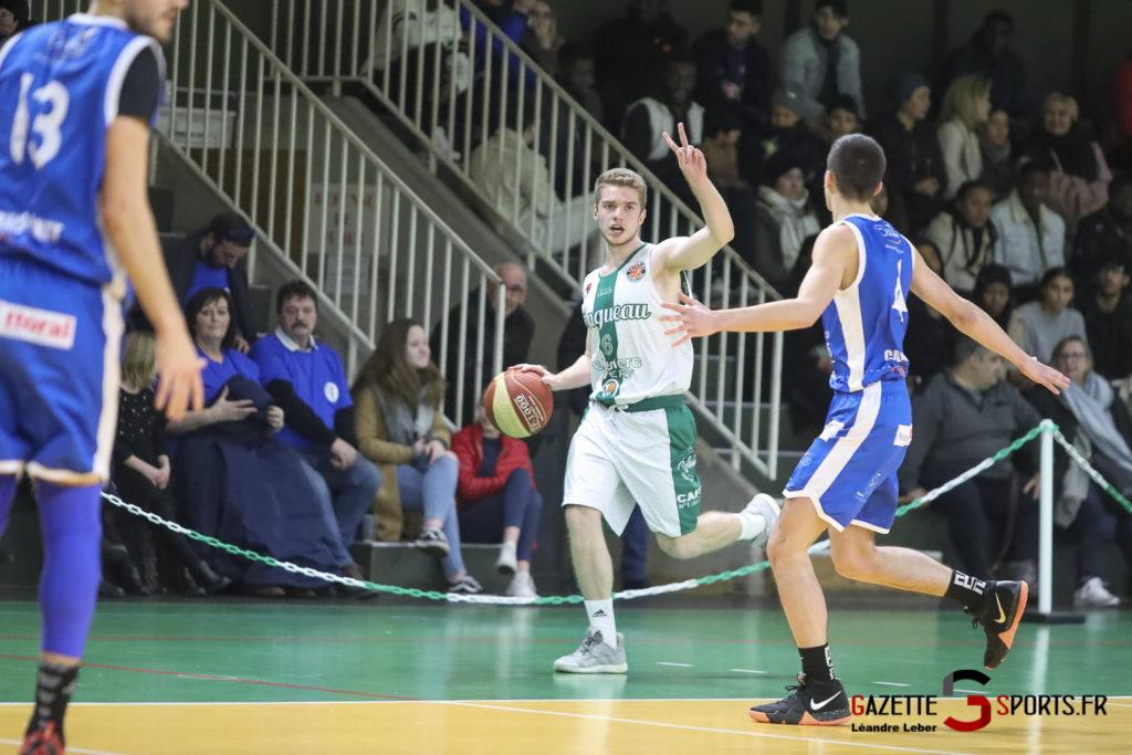 Esclams Basket Vs Calais 0014 Leandre Leber Gazettesports