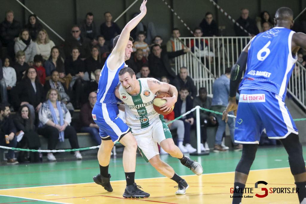 Esclams Basket Vs Calais 0016 Leandre Leber Gazettesports
