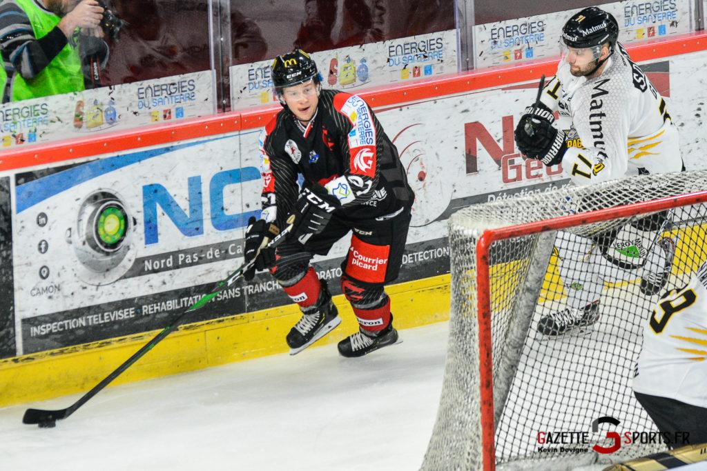 Hockey Sur Glace Gothiques Vs Rouen Kevin Devigne Gazettesports 13