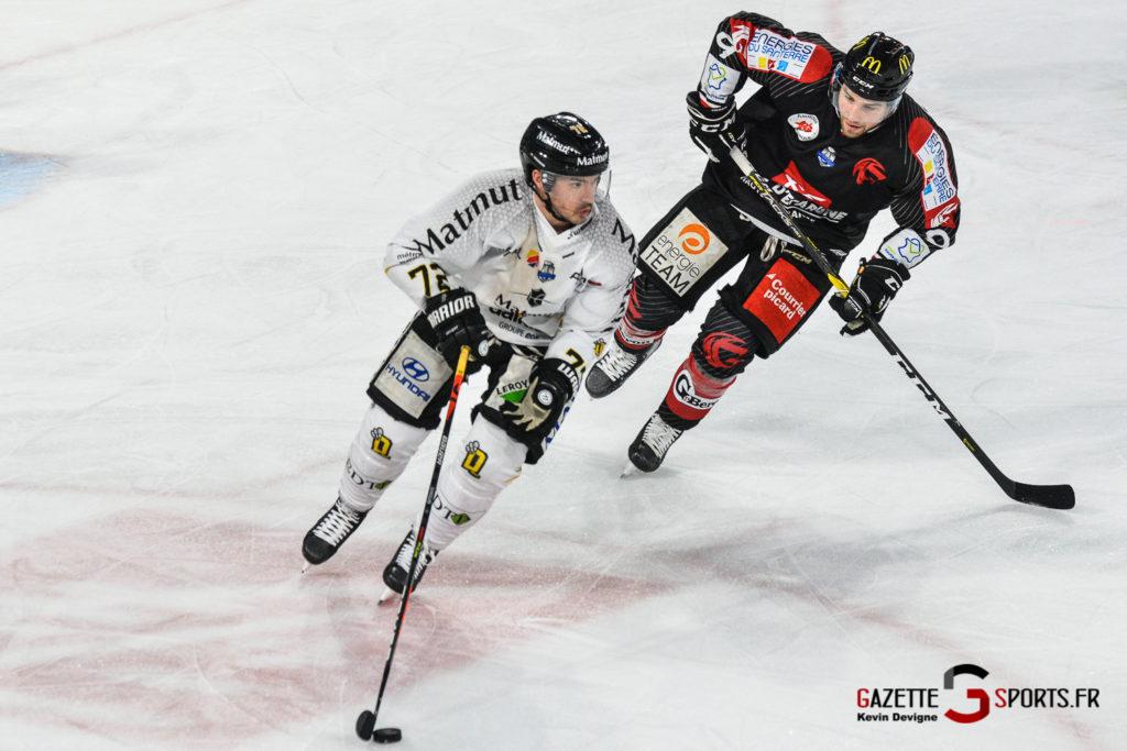 Hockey Sur Glace Gothiques Vs Rouen Kevin Devigne Gazettesports 16