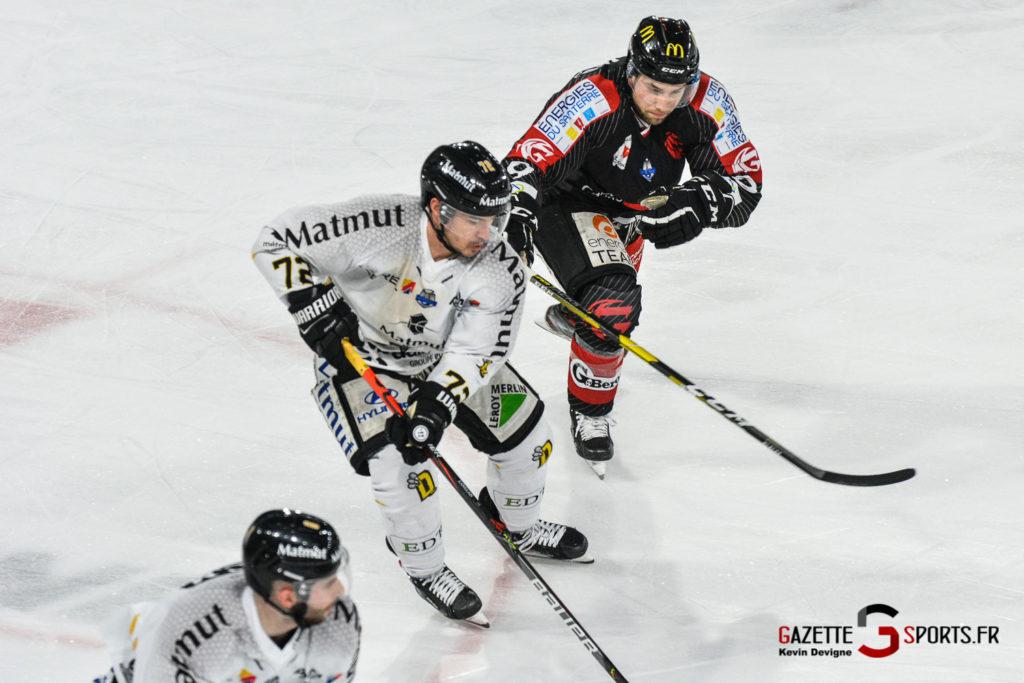 Hockey Sur Glace Gothiques Vs Rouen Kevin Devigne Gazettesports 17