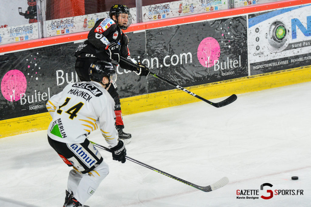 Hockey Sur Glace Gothiques Vs Rouen Kevin Devigne Gazettesports 18