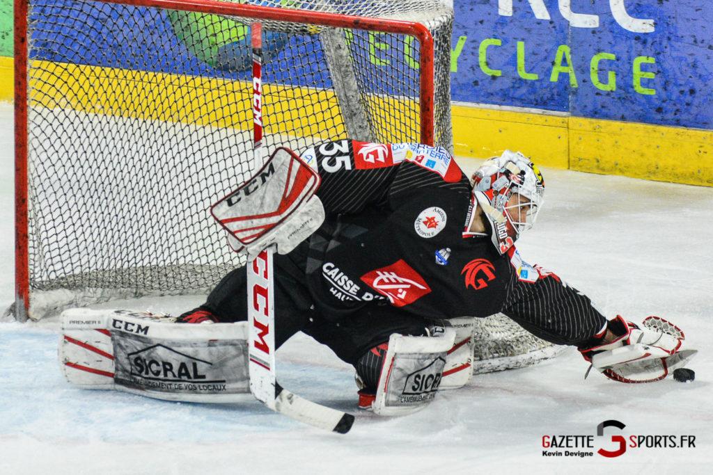 Hockey Sur Glace Gothiques Vs Rouen Kevin Devigne Gazettesports 19