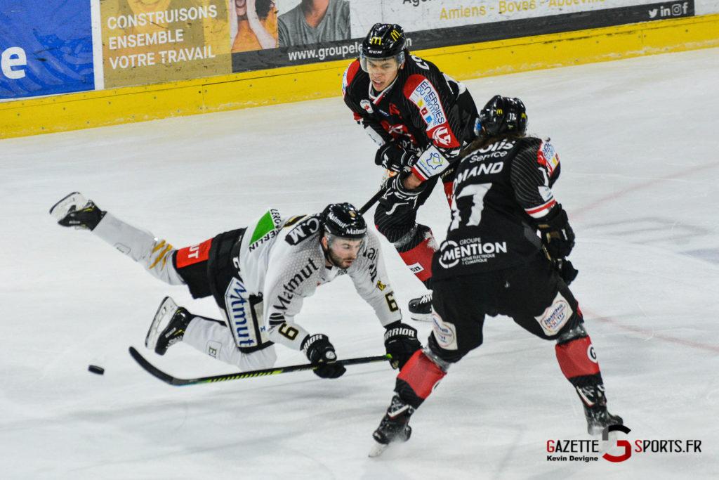 Hockey Sur Glace Gothiques Vs Rouen Kevin Devigne Gazettesports 24