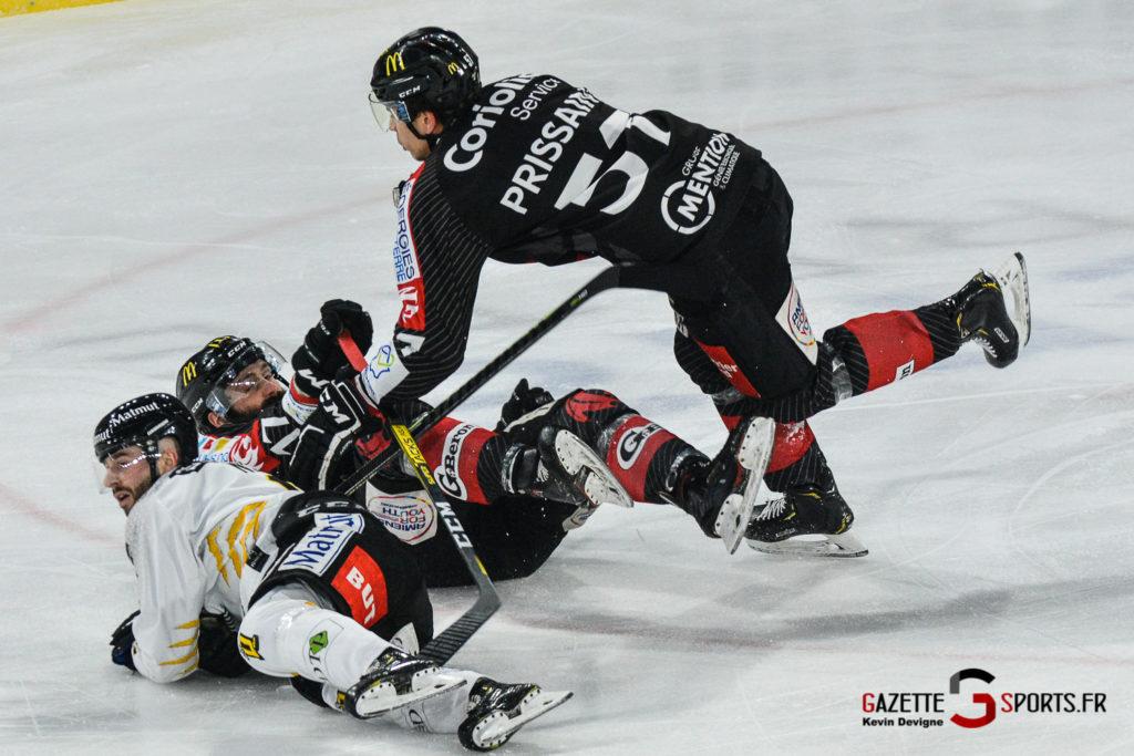 Hockey Sur Glace Gothiques Vs Rouen Kevin Devigne Gazettesports 25