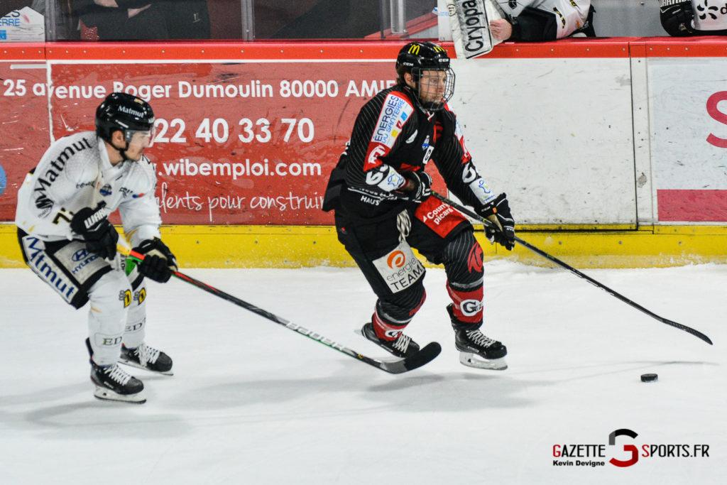 Hockey Sur Glace Gothiques Vs Rouen Kevin Devigne Gazettesports 28