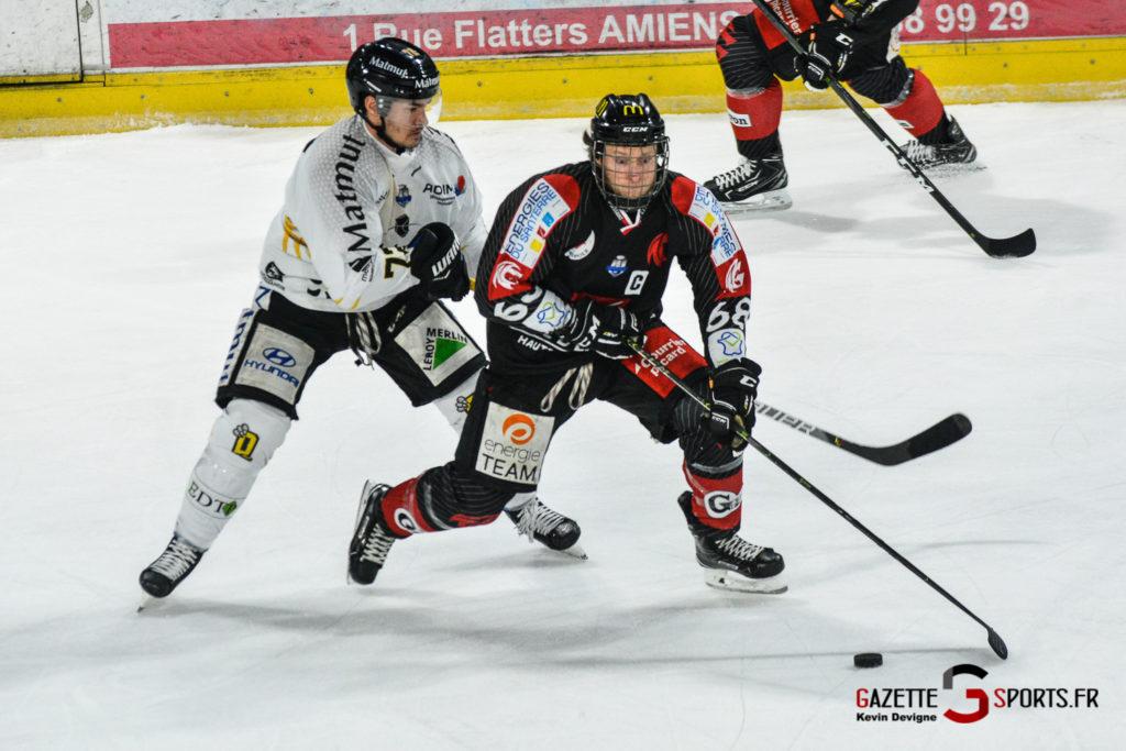 Hockey Sur Glace Gothiques Vs Rouen Kevin Devigne Gazettesports 29