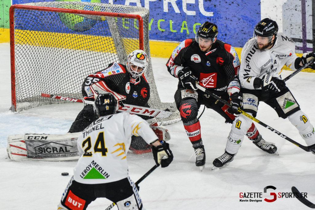 Hockey Sur Glace Gothiques Vs Rouen Kevin Devigne Gazettesports 31