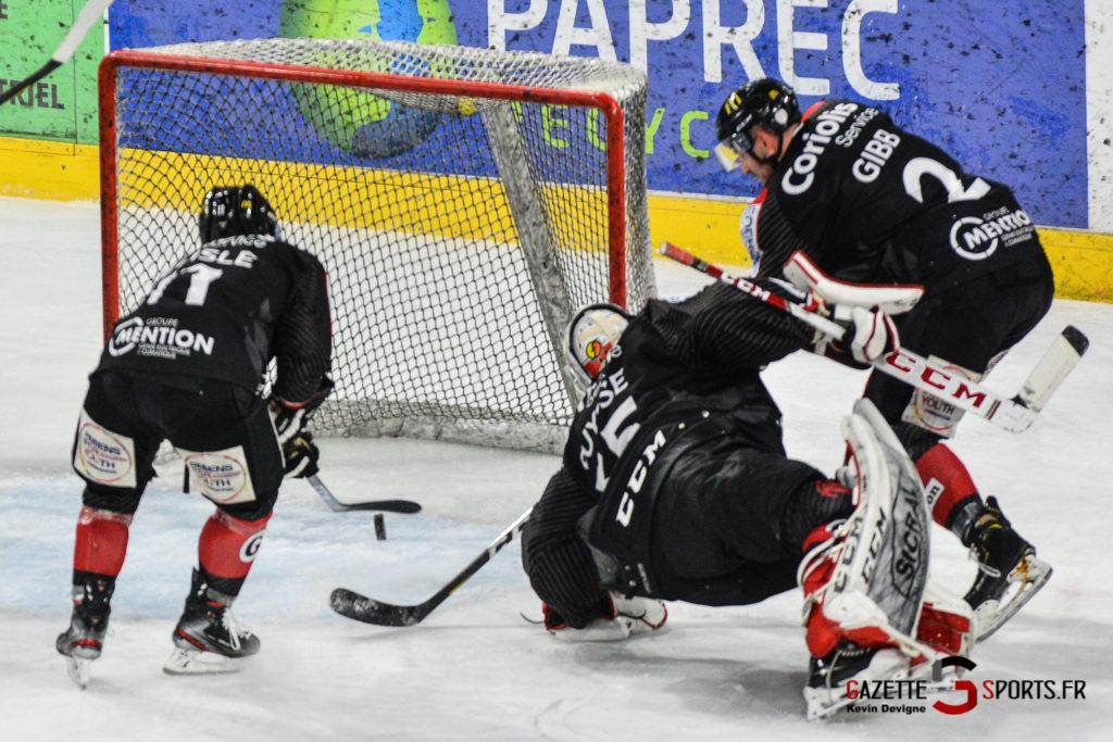 Hockey Sur Glace Gothiques Vs Rouen Kevin Devigne Gazettesports 32