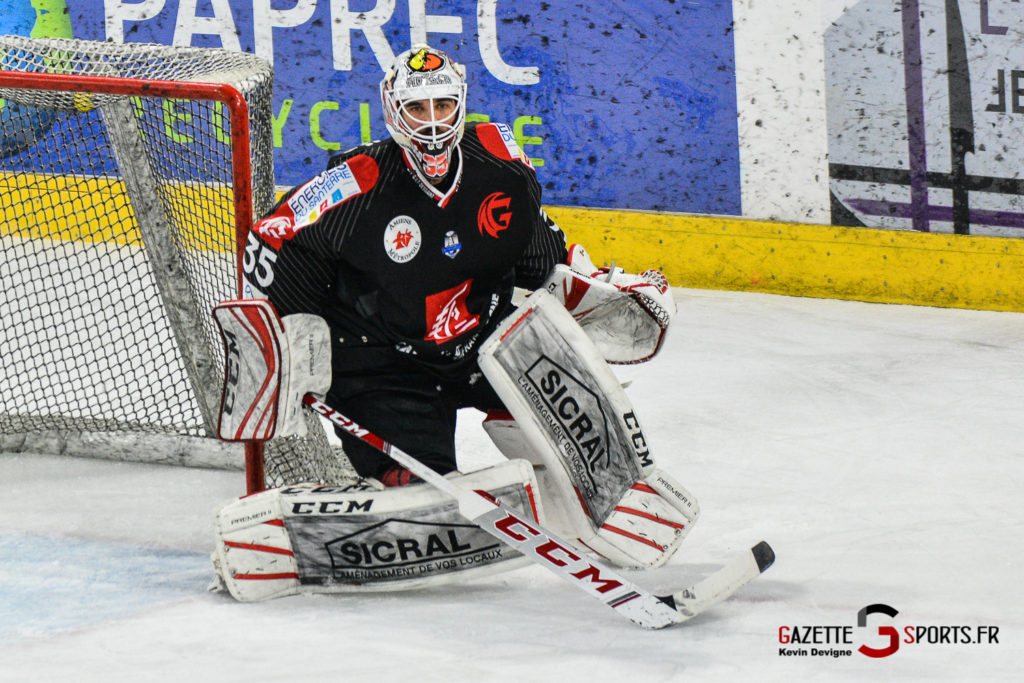 Hockey Sur Glace Gothiques Vs Rouen Kevin Devigne Gazettesports 33