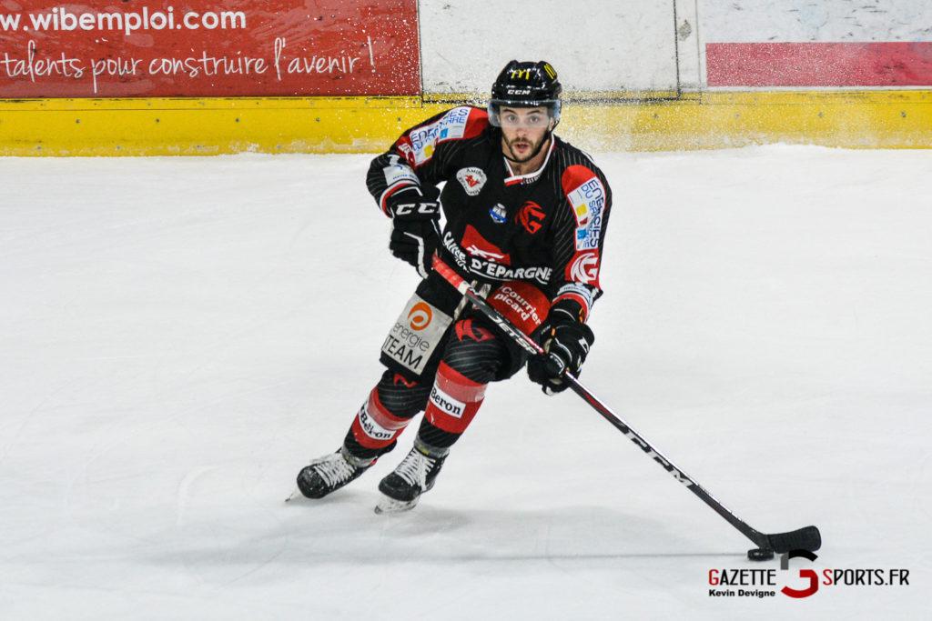 Hockey Sur Glace Gothiques Vs Rouen Kevin Devigne Gazettesports 34