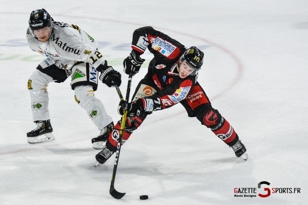 Hockey Sur Glace Gothiques Vs Rouen Kevin Devigne Gazettesports 35