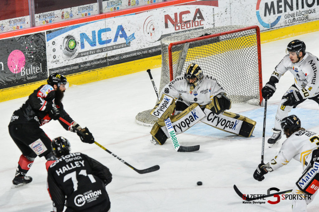 Hockey Sur Glace Gothiques Vs Rouen Kevin Devigne Gazettesports 37