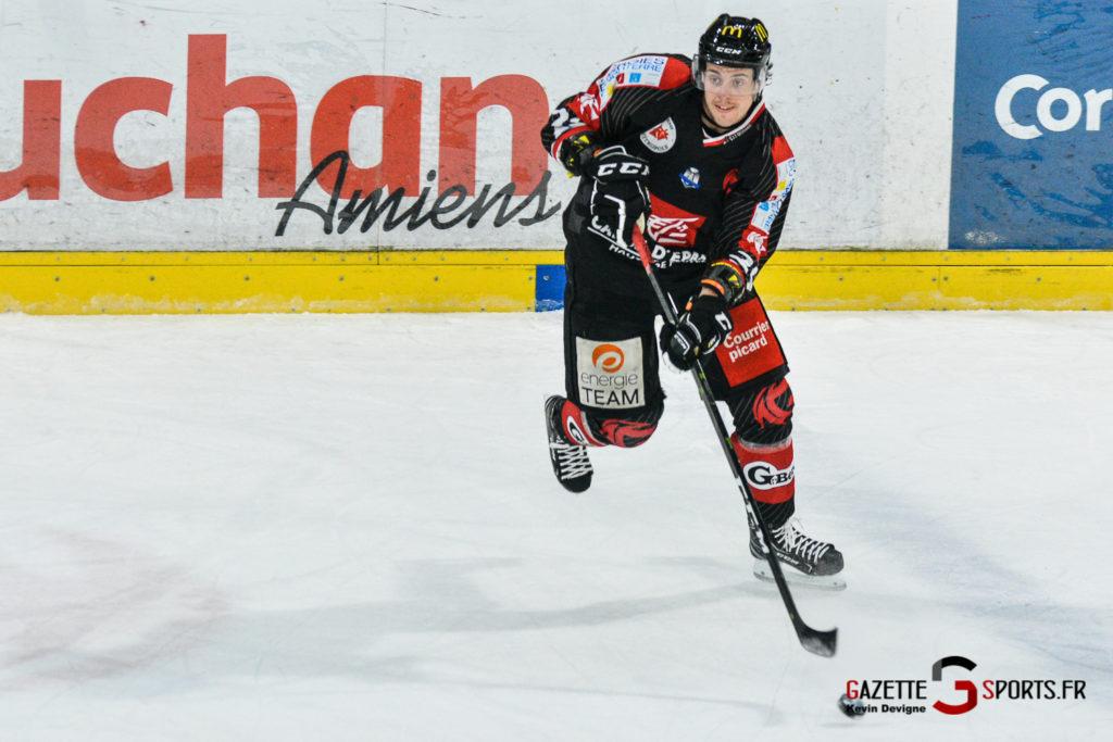 Hockey Sur Glace Gothiques Vs Rouen Kevin Devigne Gazettesports 43