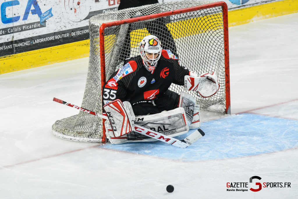 Hockey Sur Glace Gothiques Vs Rouen Kevin Devigne Gazettesports 48