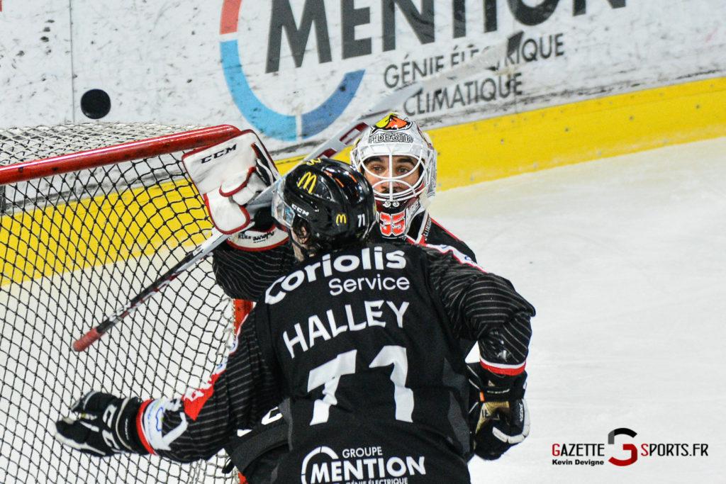 Hockey Sur Glace Gothiques Vs Rouen Kevin Devigne Gazettesports 49
