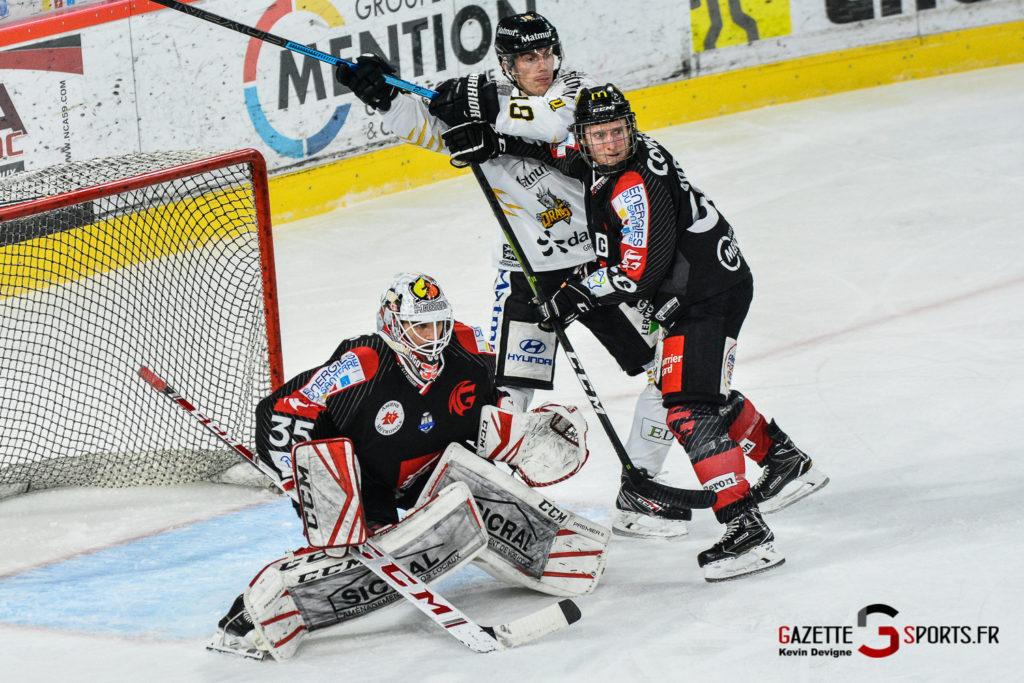 Hockey Sur Glace Gothiques Vs Rouen Kevin Devigne Gazettesports 50