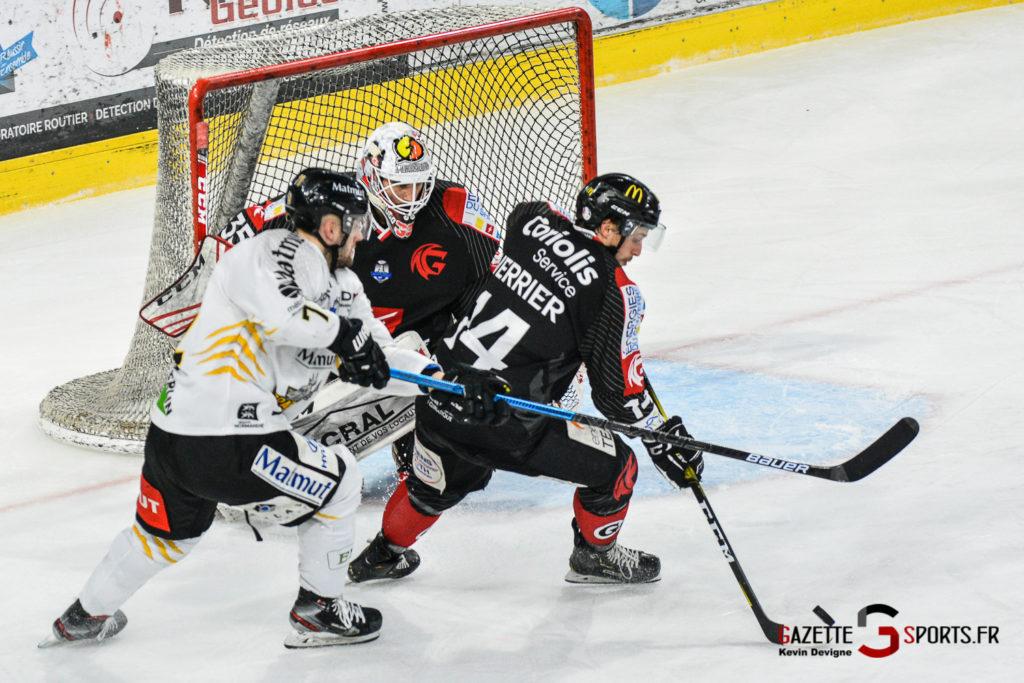 Hockey Sur Glace Gothiques Vs Rouen Kevin Devigne Gazettesports 51