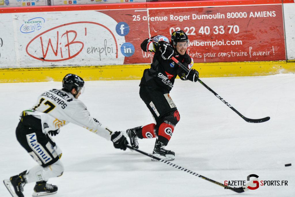 Hockey Sur Glace Gothiques Vs Rouen Kevin Devigne Gazettesports 52
