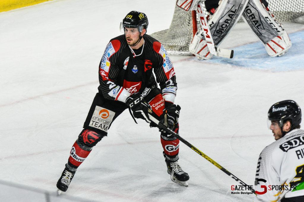 Hockey Sur Glace Gothiques Vs Rouen Kevin Devigne Gazettesports 54