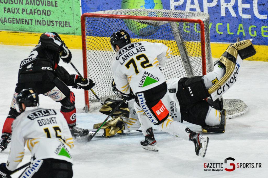 Hockey Sur Glace Gothiques Vs Rouen Kevin Devigne Gazettesports 55
