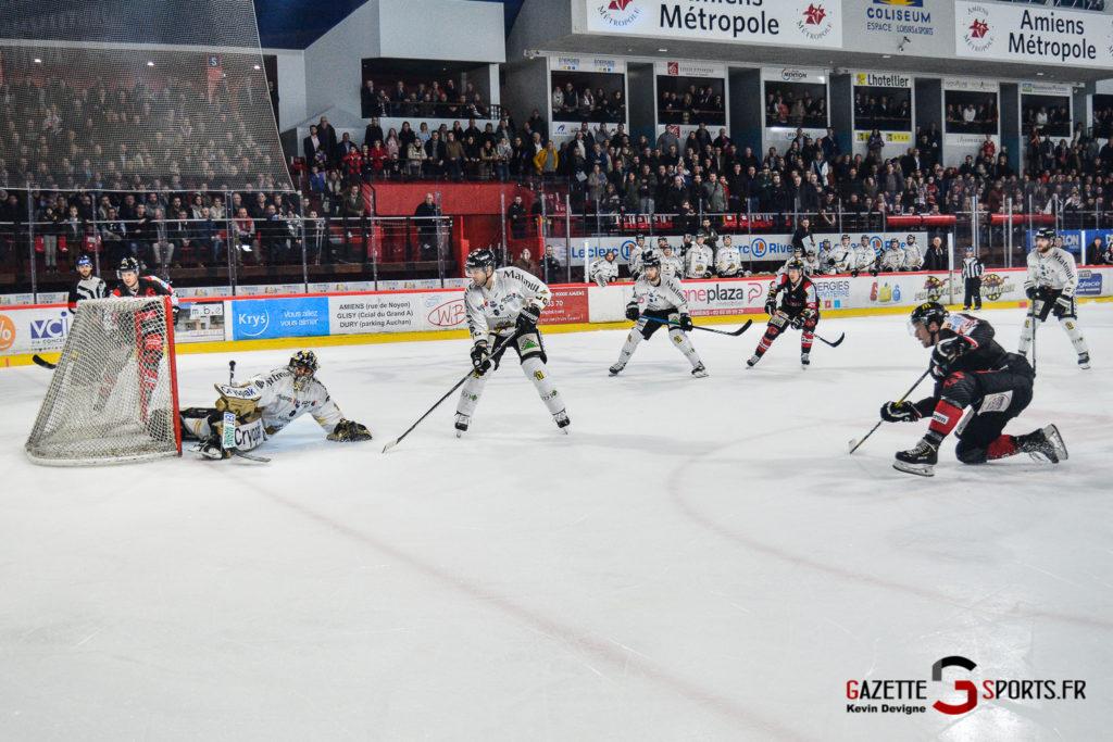 Hockey Sur Glace Gothiques Vs Rouen Kevin Devigne Gazettesports 58