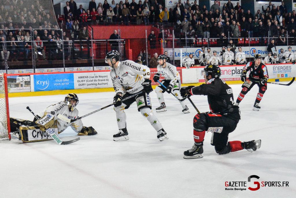 Hockey Sur Glace Gothiques Vs Rouen Kevin Devigne Gazettesports 59
