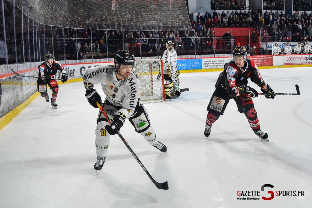 Hockey Sur Glace Gothiques Vs Rouen Kevin Devigne Gazettesports 62