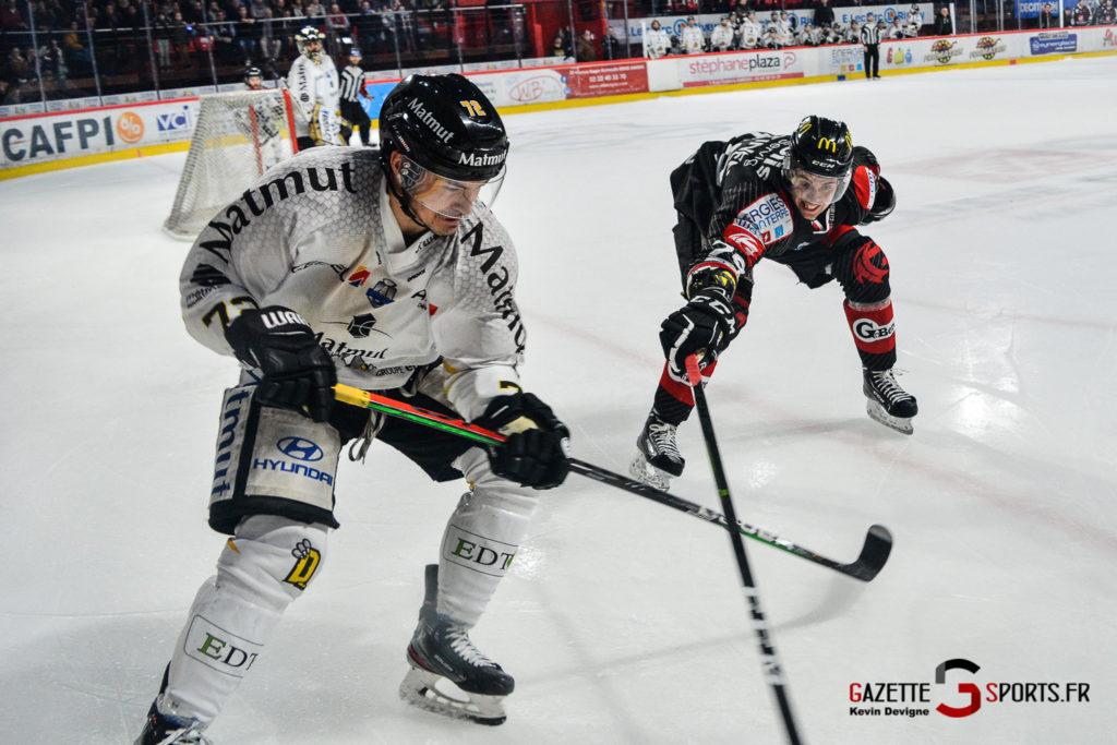 Hockey Sur Glace Gothiques Vs Rouen Kevin Devigne Gazettesports 63
