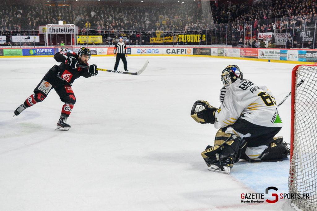 Hockey Sur Glace Gothiques Vs Rouen Kevin Devigne Gazettesports 64