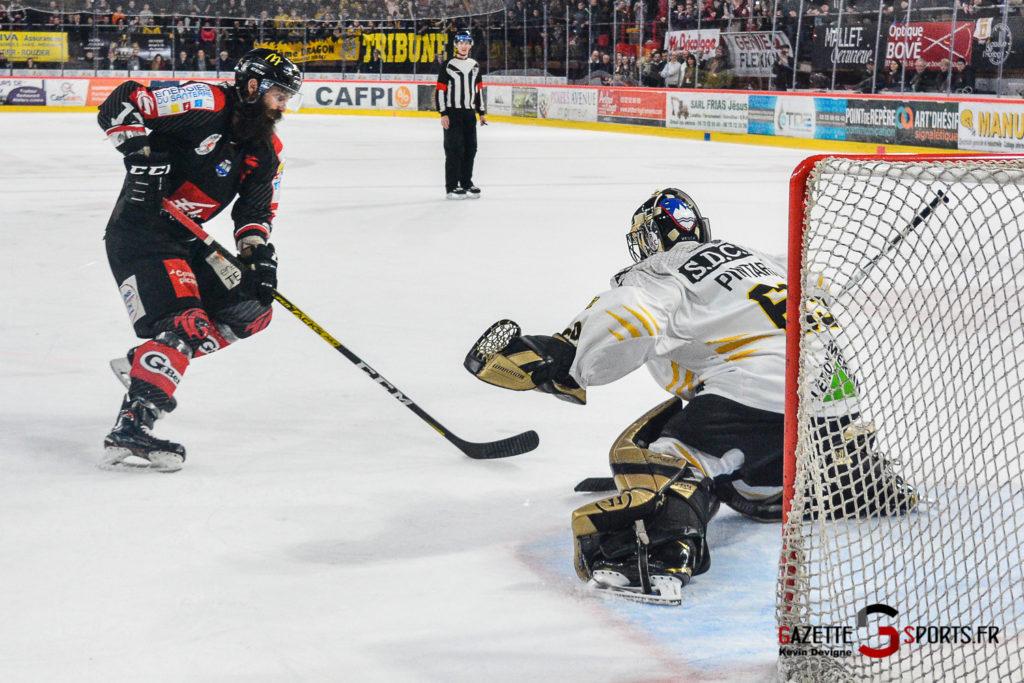 Hockey Sur Glace Gothiques Vs Rouen Kevin Devigne Gazettesports 67