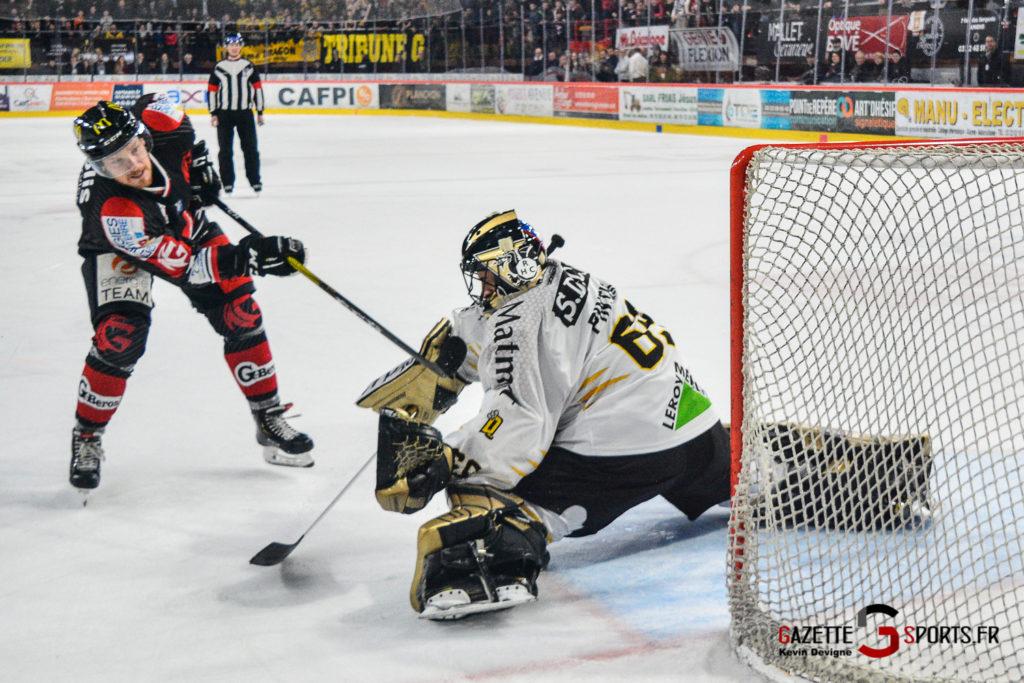 Hockey Sur Glace Gothiques Vs Rouen Kevin Devigne Gazettesports 68