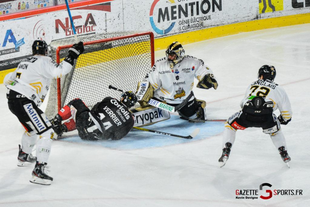Hockey Sur Glace Gothiques Vs Rouen Kevin Devigne Gazettesports 75
