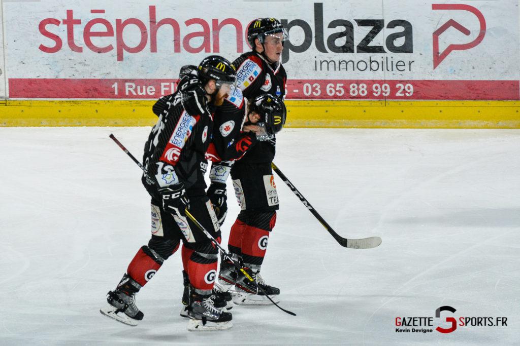 Hockey Sur Glace Gothiques Vs Rouen Kevin Devigne Gazettesports 76