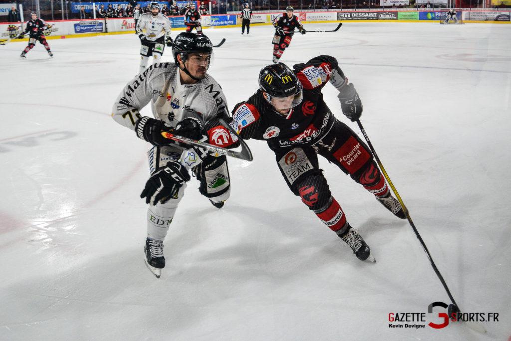 Hockey Sur Glace Gothiques Vs Rouen Kevin Devigne Gazettesports 78