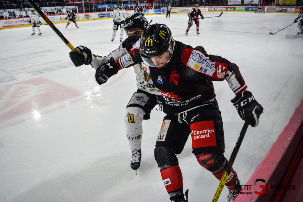 Hockey Sur Glace Gothiques Vs Rouen Kevin Devigne Gazettesports 80